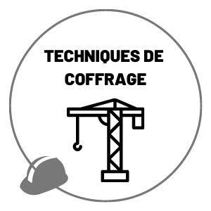 Techniques de coffrage